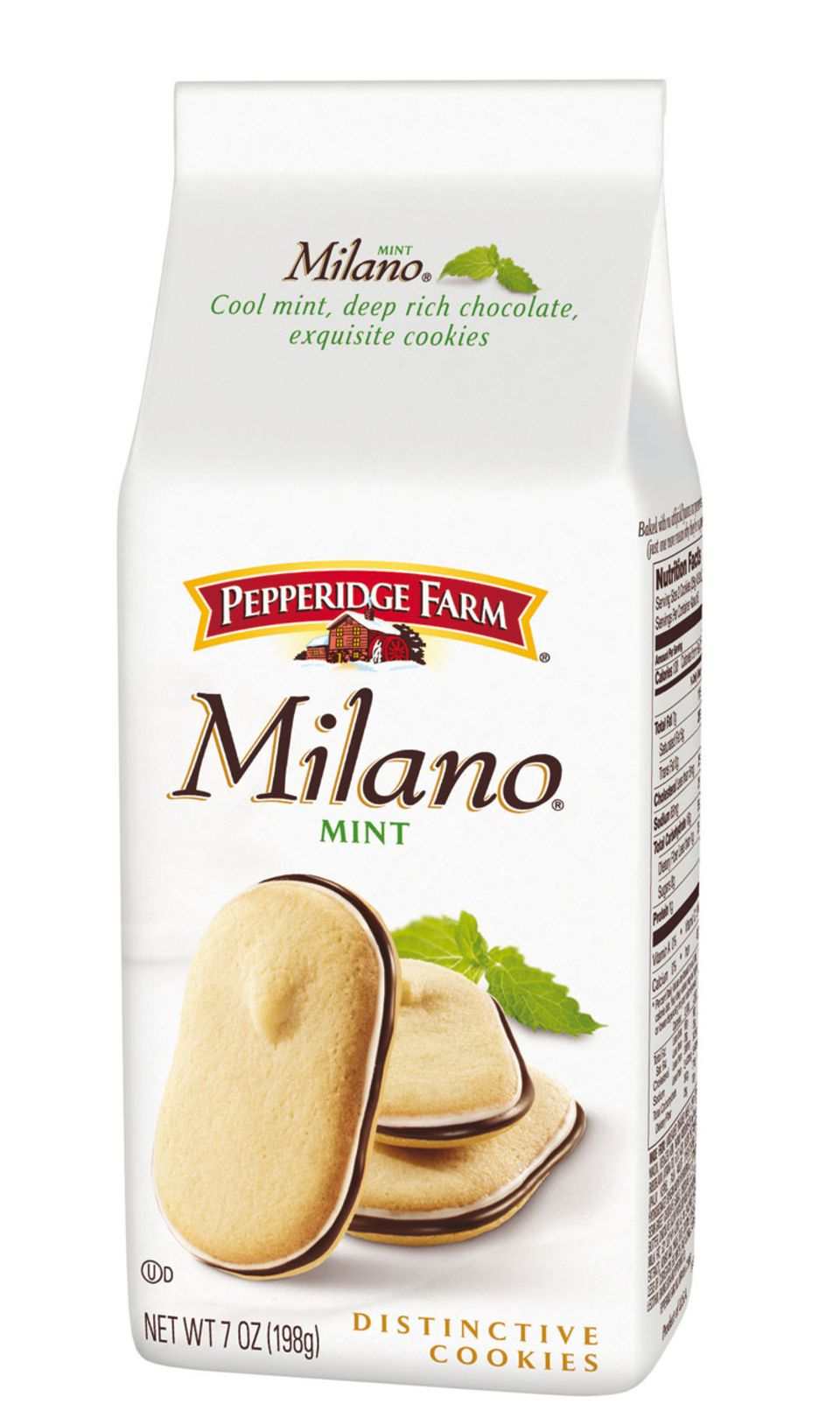 Neue Sorte: Pepperidge Farm Milano Mint