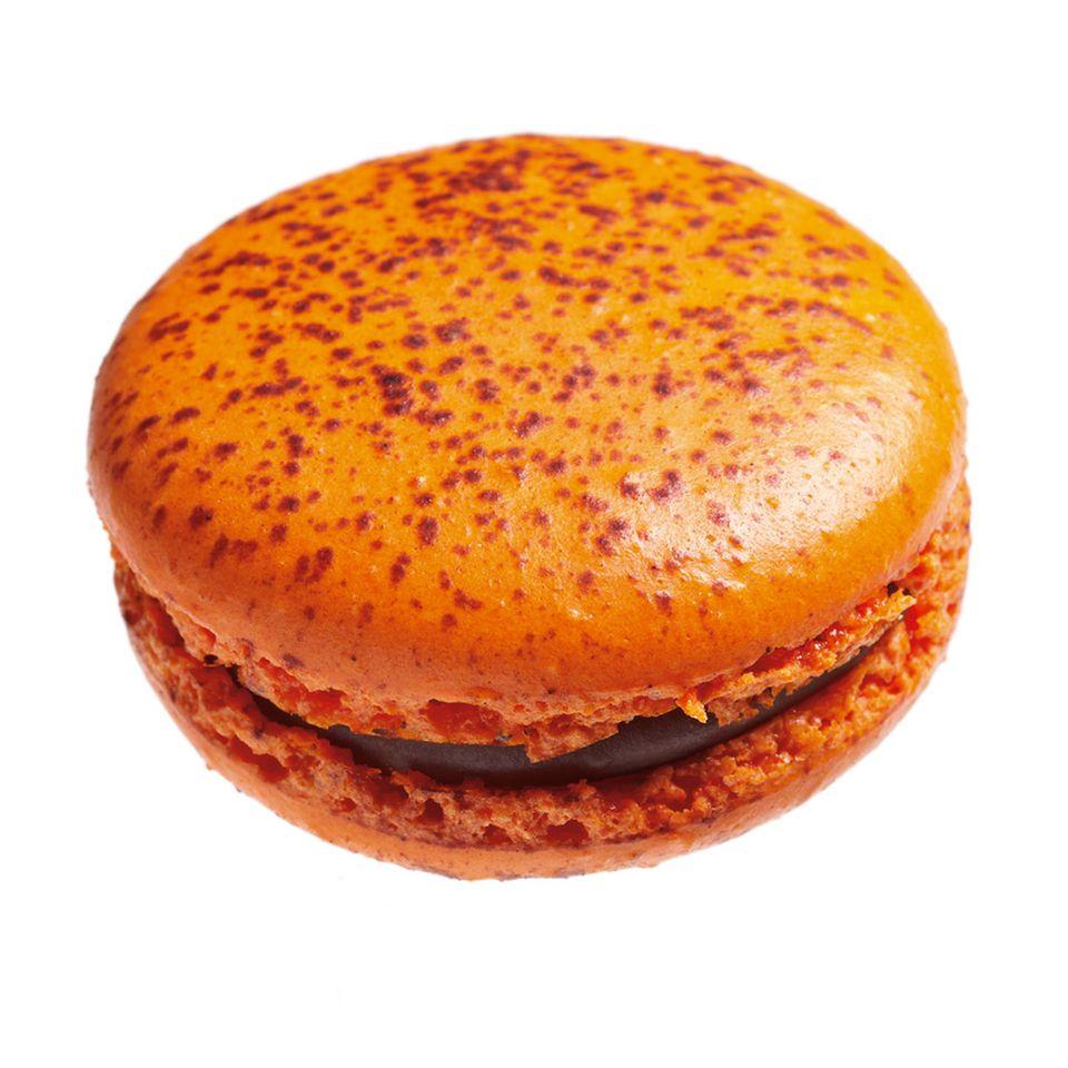 Schokoladen-Orangen Macaron von Adriano Zumbo