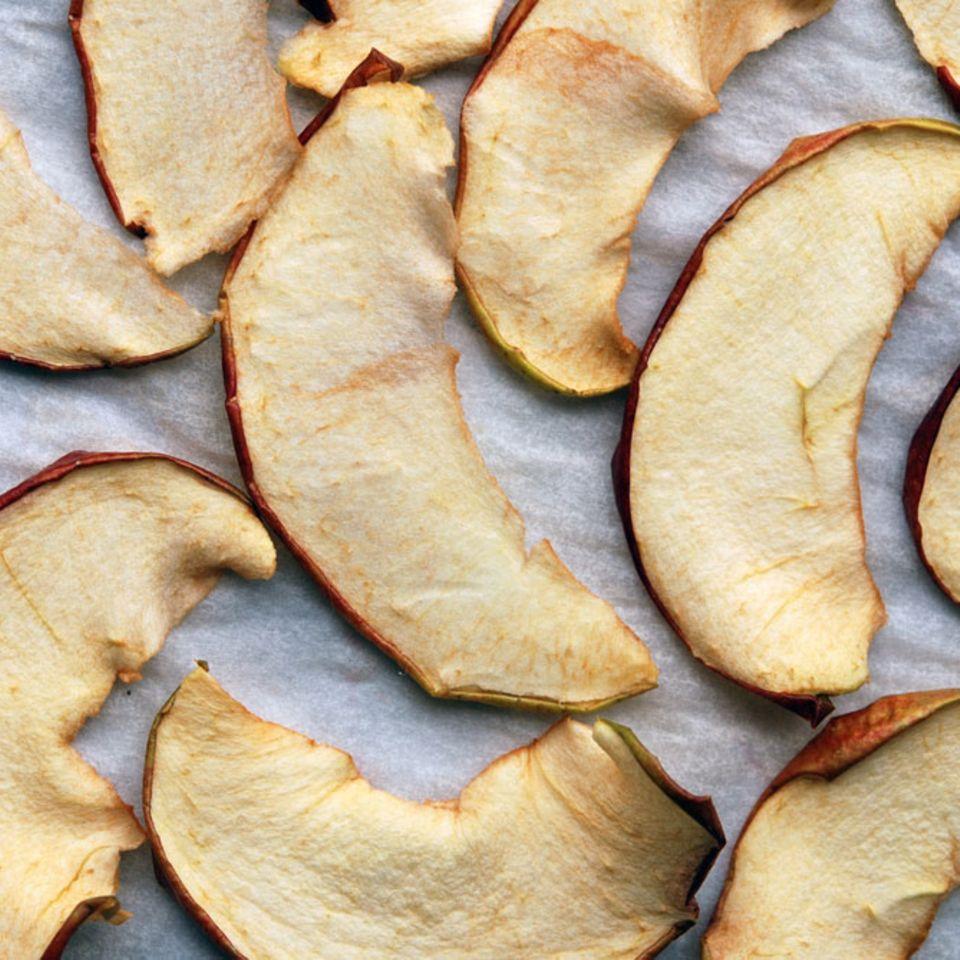 Gedörrte Äpfel: Gesundes Naschwerk für zwischendurch