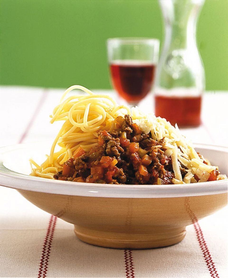 Ein Pasta-Klassiker: Spaghetti Bolognese