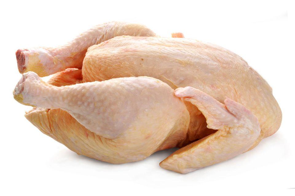 Rohes Hähnchen: ein empfindliches Lebensmittel