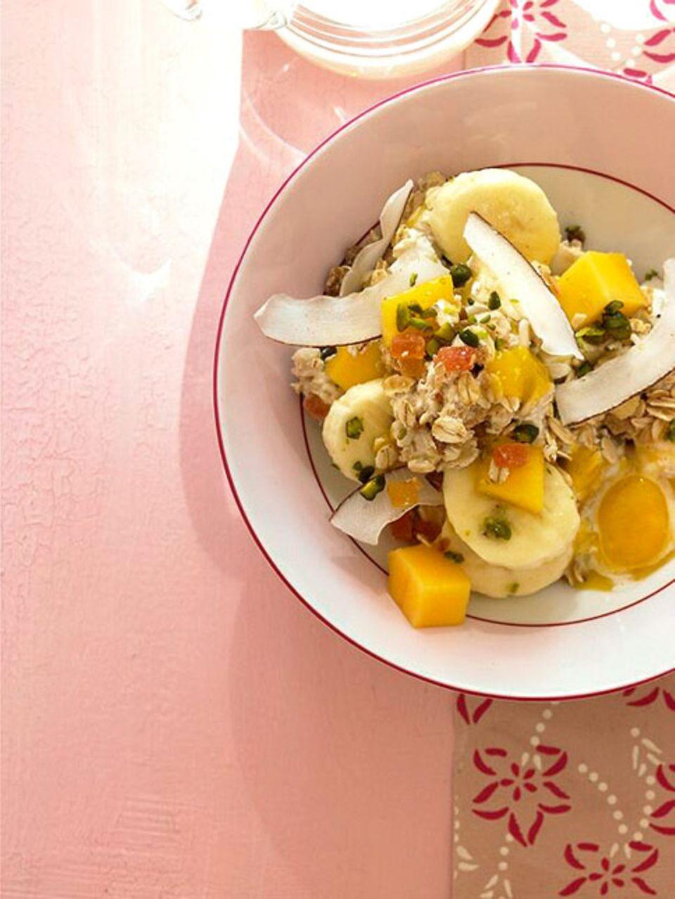Starten Sie mit einem gesunden Frühstück kraftvoll in den Arbeitstag