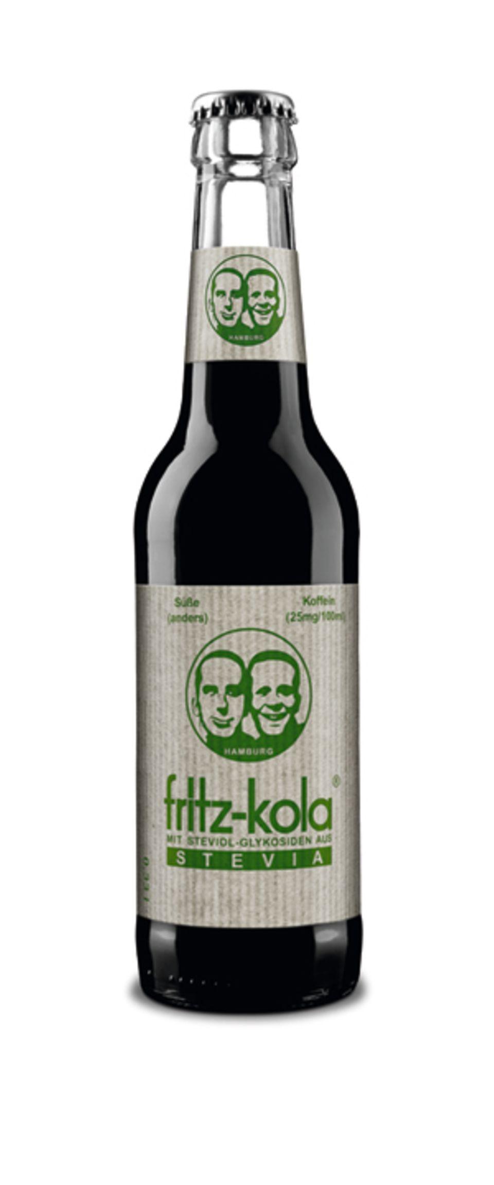 Die Hälfte an Kalorien: Fritz Kola mit Stevia