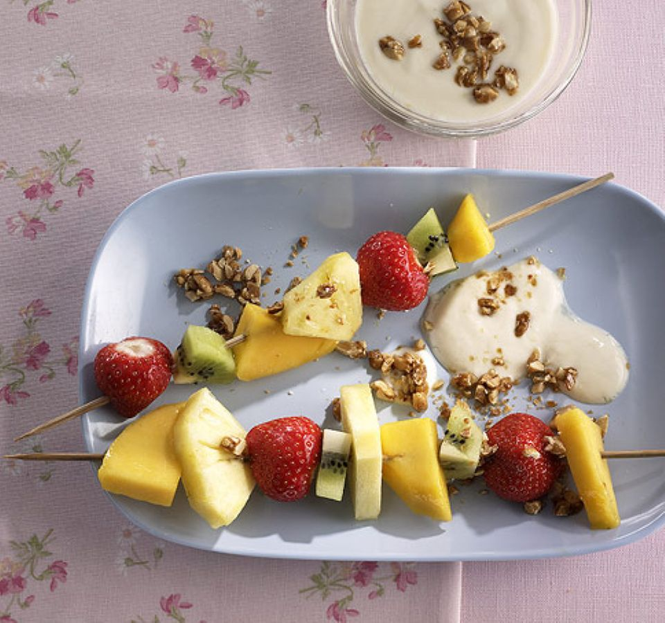 Machen Appetit: Obstspieße