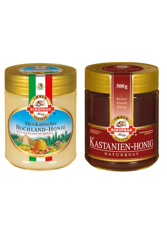 Zwei neue Honigsorten von BIHOPHAR