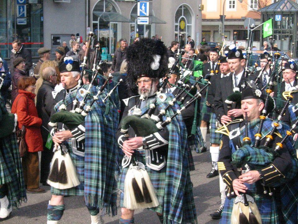 Die Münchener St. Patrick's Day-Parade