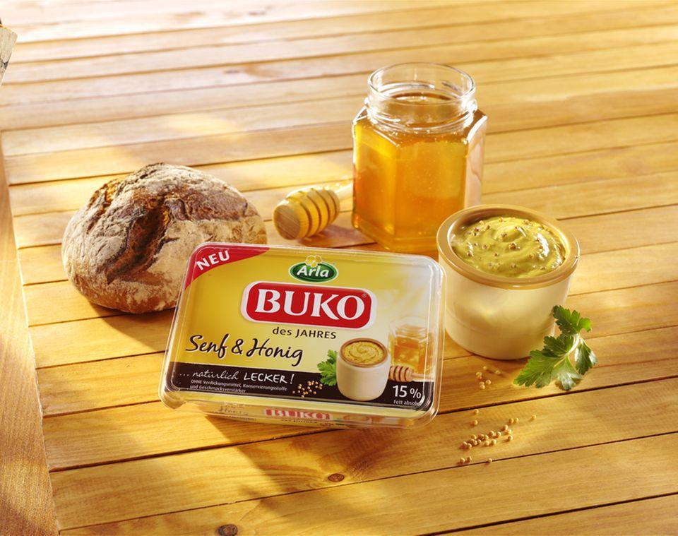 Abwechslung fürs Brot: Frischkäse Senf & Honig