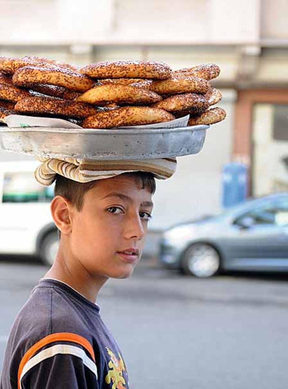 Simit: Köstliche Sesamringe