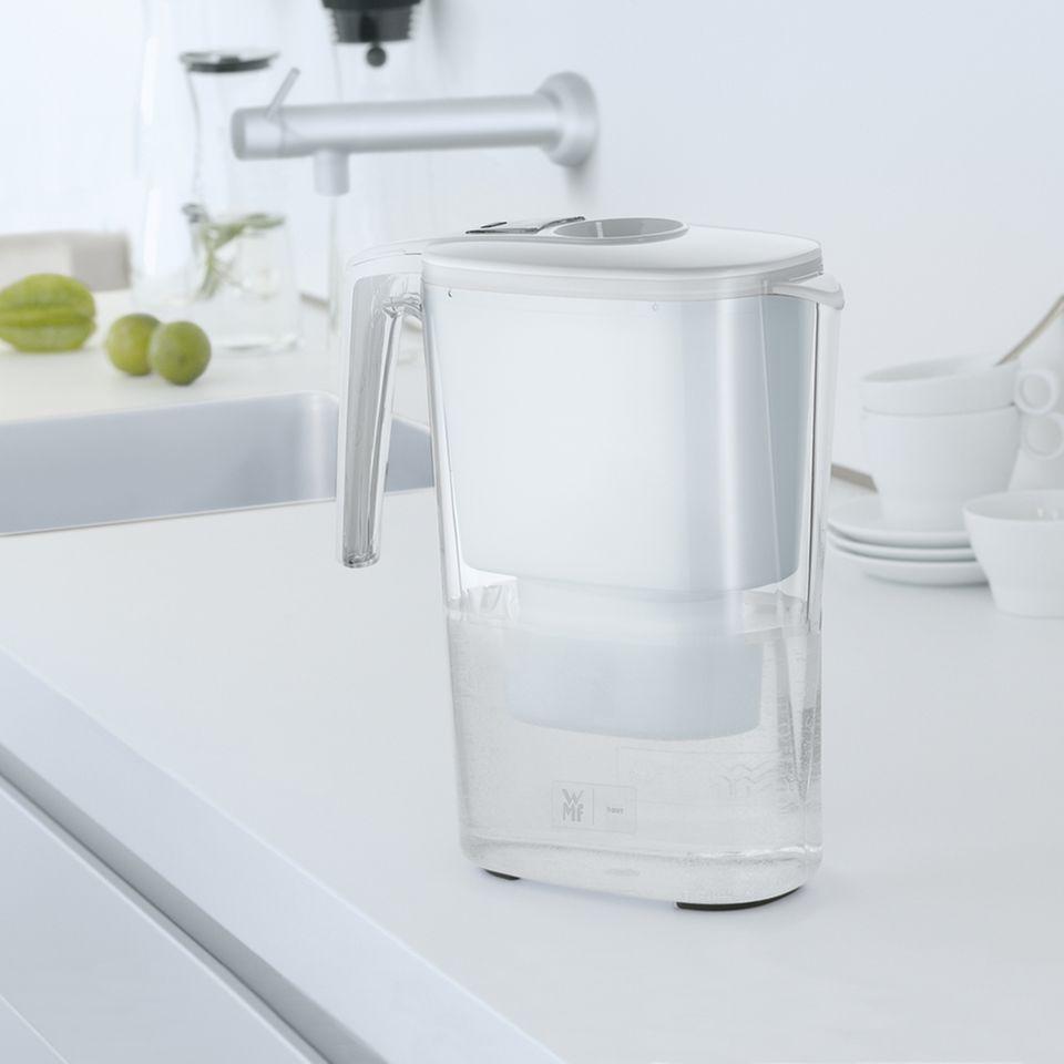 Wasserfiltersystem mit doppelter Wirkung