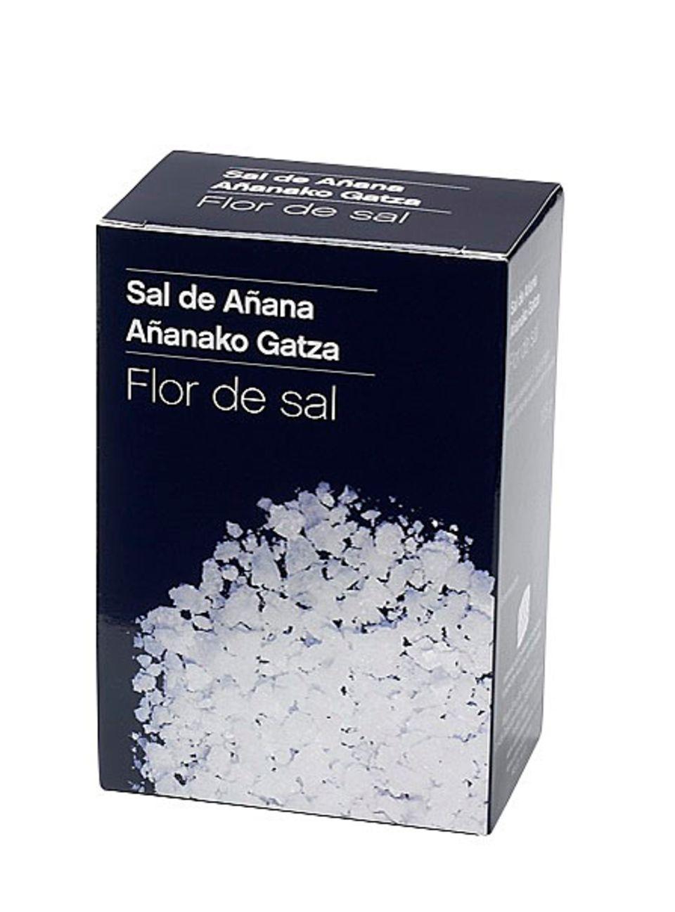 Reines, mildes Salz aus Añana, Spanien