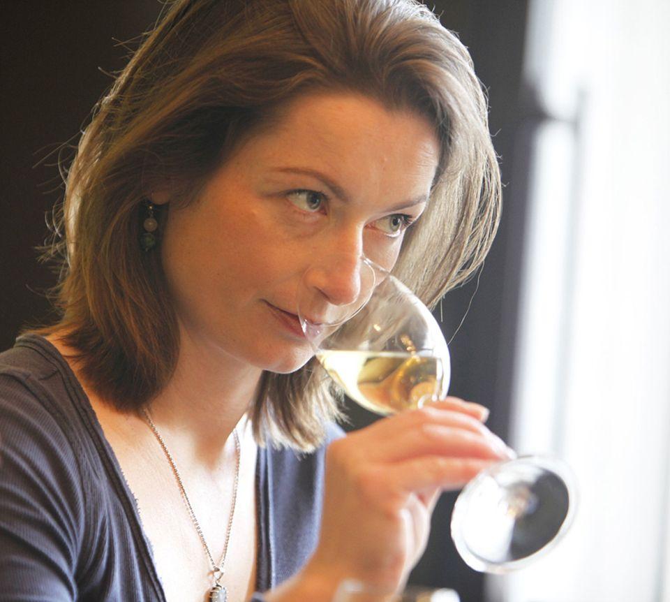 Für Sommelière Ina Finn bedeutet Wein in erster Linie Genuss - und der hat mit Qualität zu tun