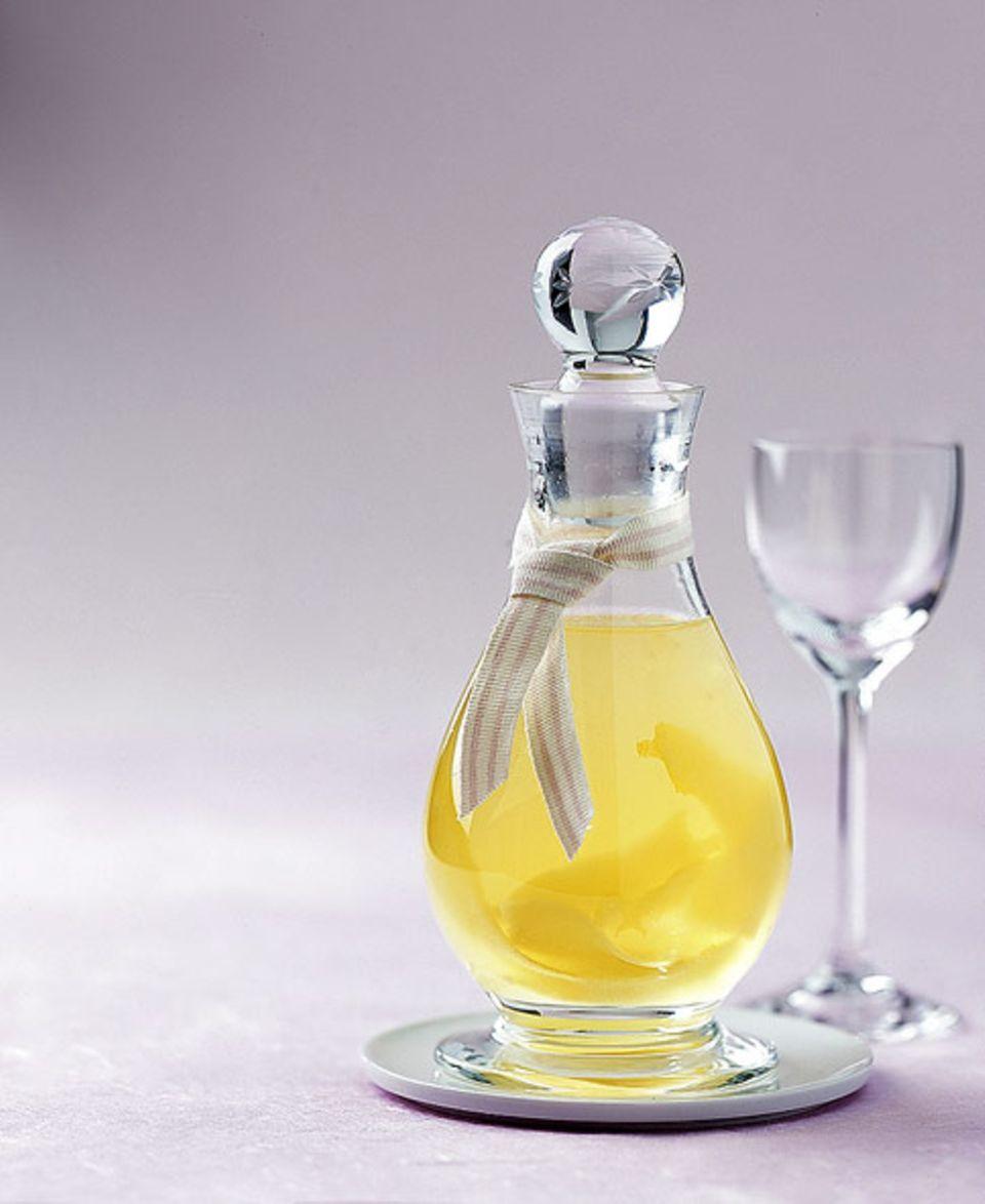 Selbst gemacht: Zitronen-Ingwer-Likör