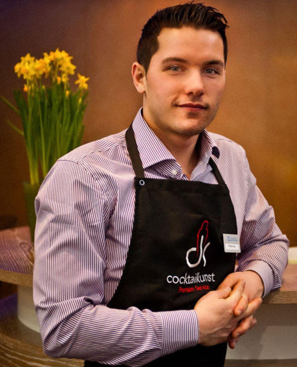 Bartender Stephan Hinz