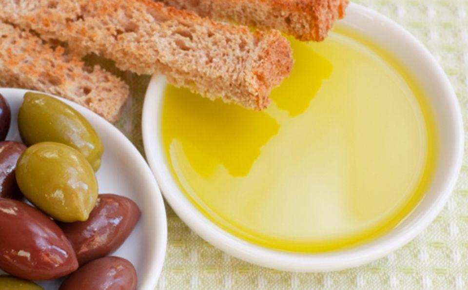 In der mediterranen Küche wird Olivenöl sowohl für kalte als auch warme Speisen verwendet