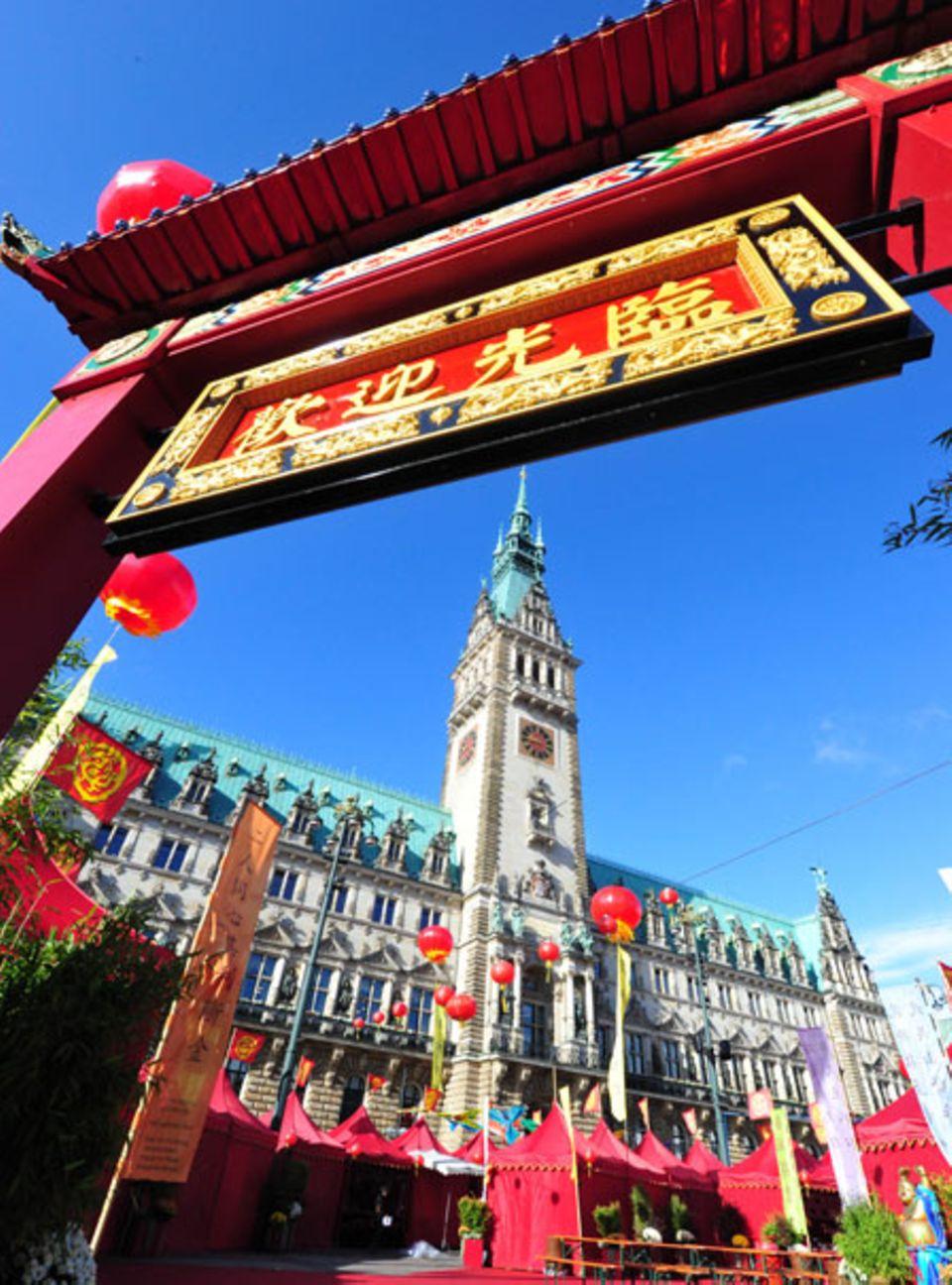 Kunst, Kultur, Kulinarik rund ums Reich der Mitte auf der China Time in Hamburg