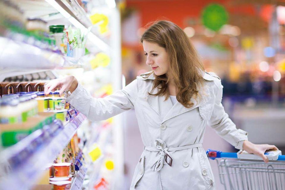 Achten Sie beim Einkauf auf das Mindesthaltbarkeitsdatum