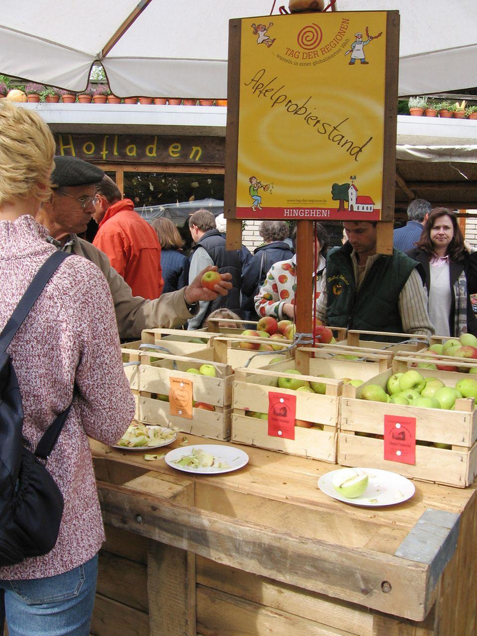"""Der """"Tag der Regionen"""" bietet zahlreiche kulinarische Erlebnisse"""