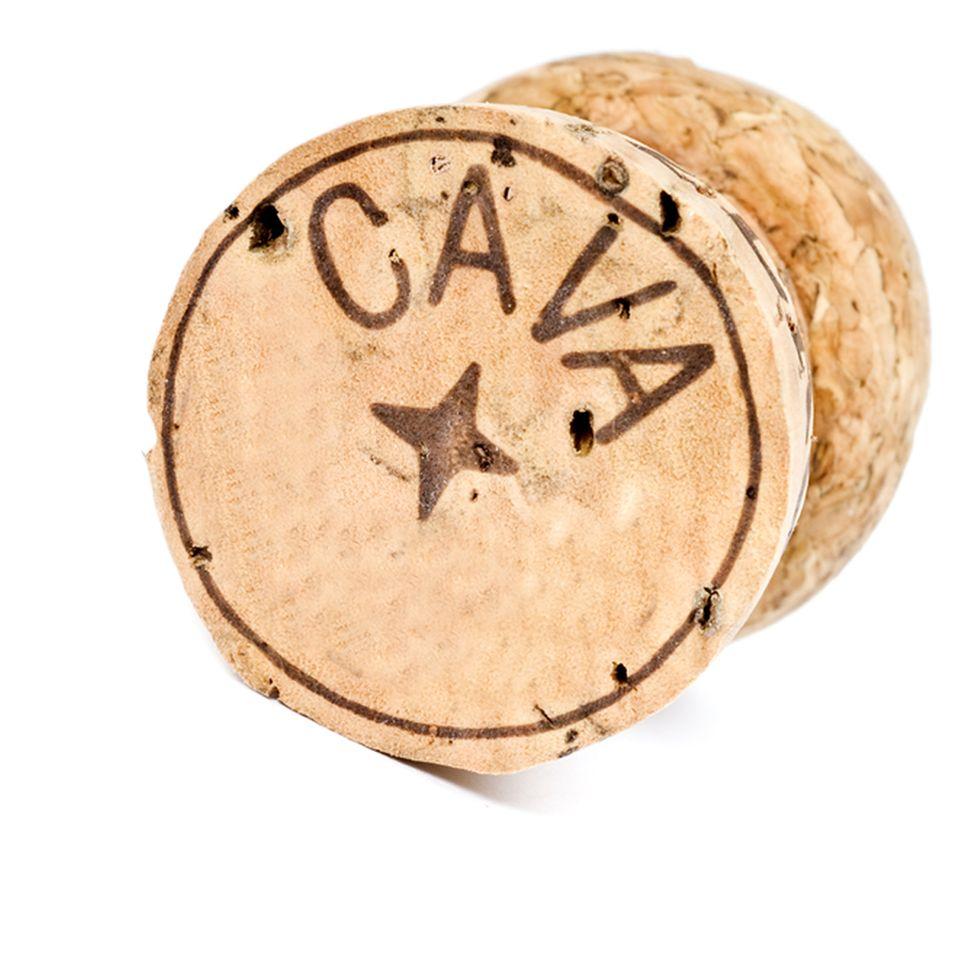 Am vierzackigen Stern auf dem Korken erkennen Sie Cava