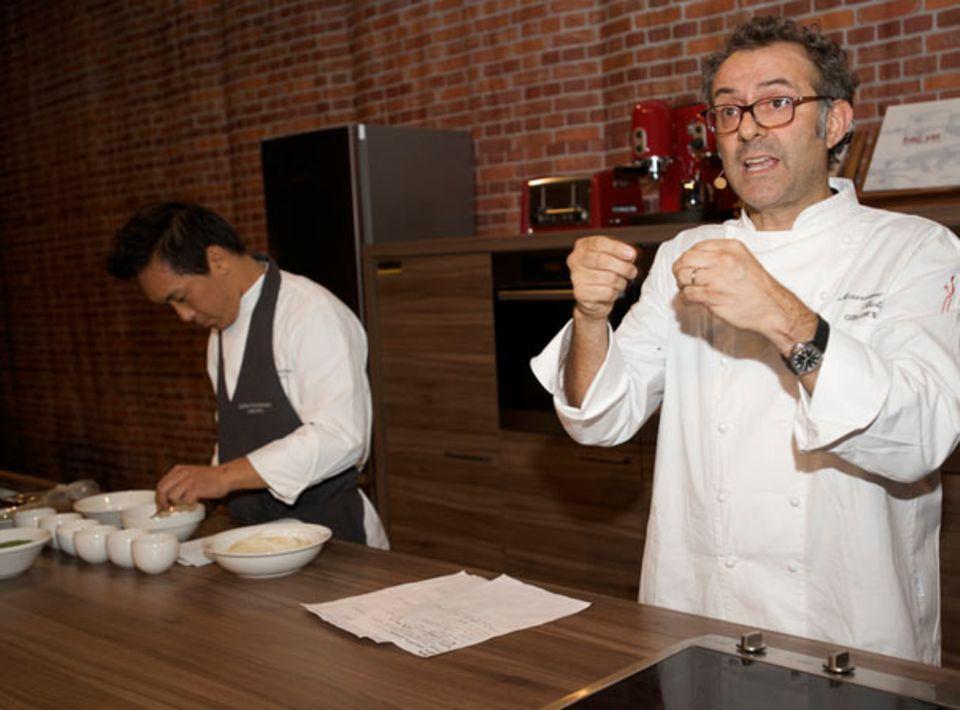 Drei-Sterne-Koch Massimo Bottura gehörte zu den Stars der Chef Sache 2011