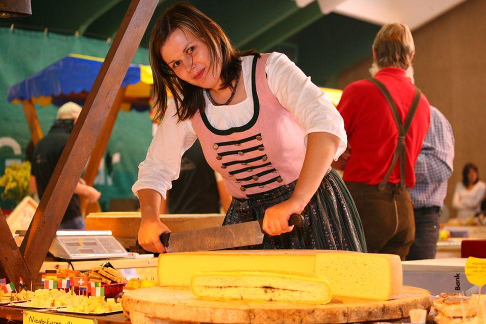 In Galtür dreht sich am 29.09.2012 alles um den Käse