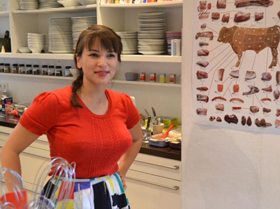 Rachel Khoo auf ihrer Kochbuch-Präsentation in Hamburg