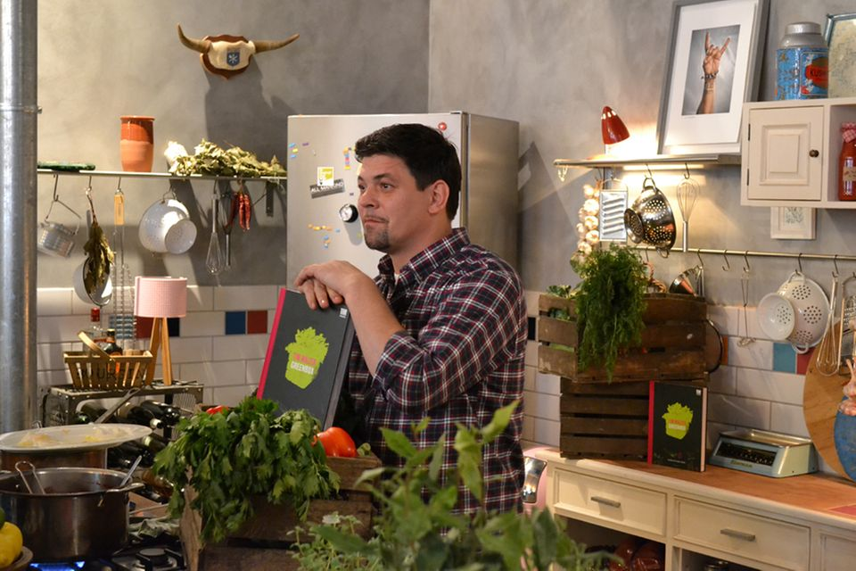 Tim Mälzer stellt in Hamburg sein neues Kochbuch vor