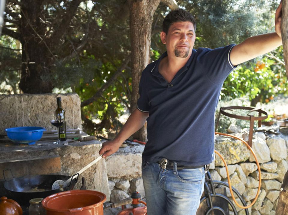 Tim Mälzer auf seiner Lieblingsinsel Mallorca