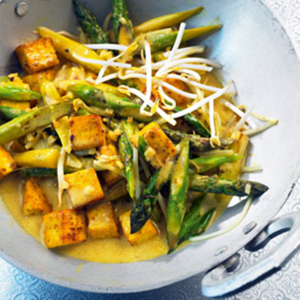 Rezepte: Hauptgerichte mit Tofu