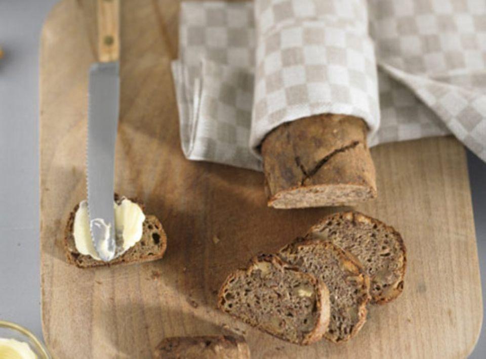 Brot mit Butter: Einfach und lecker