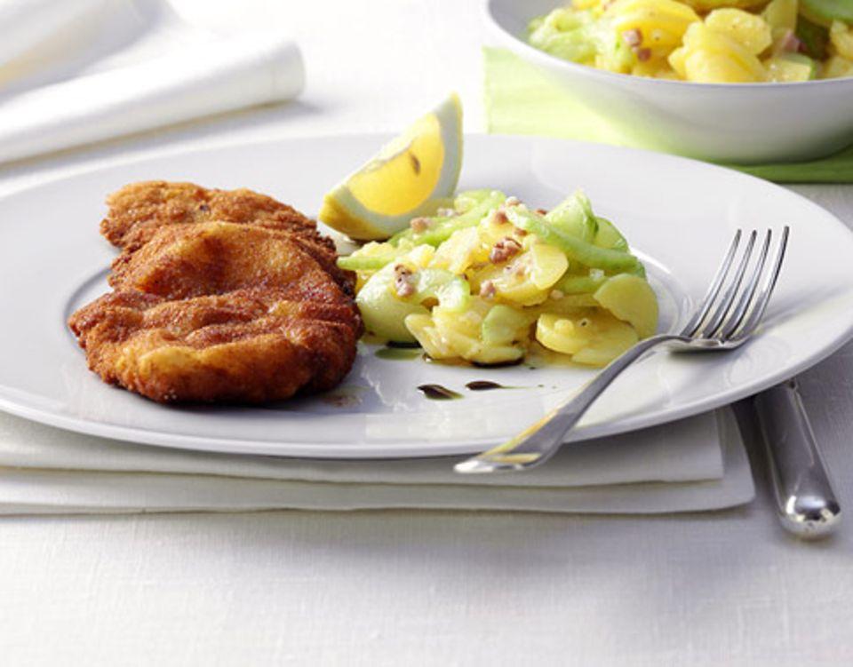 Wiener Schnitzel mit Zitrone