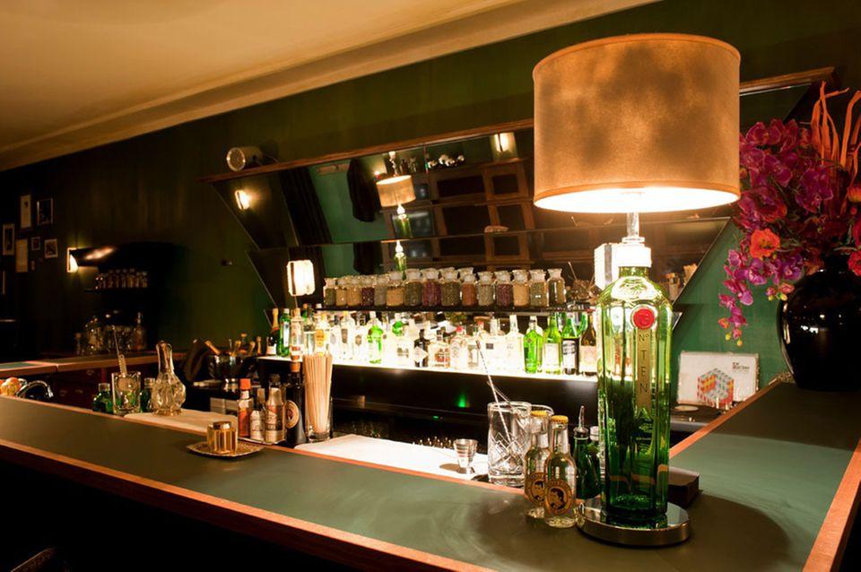 Eine Bar im Zeichen von Gin & Tonic: The G&T Bar