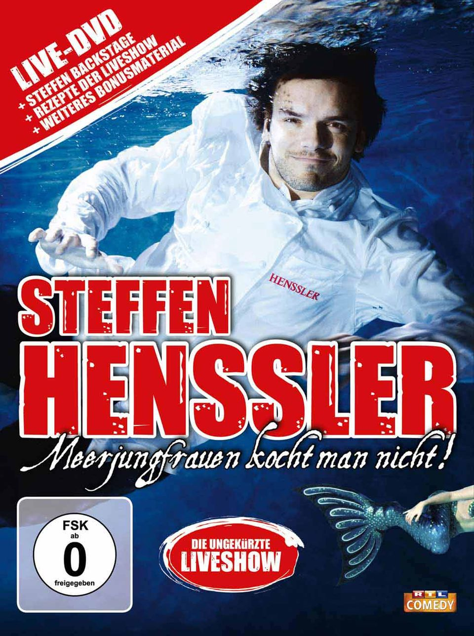 Meerjungfrauen kocht man nicht - Steffen Hensslers Bühnenprogramm auf DVD