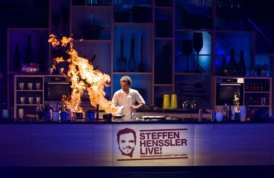 Koch und Entertainer: Steffen Henssler in Action