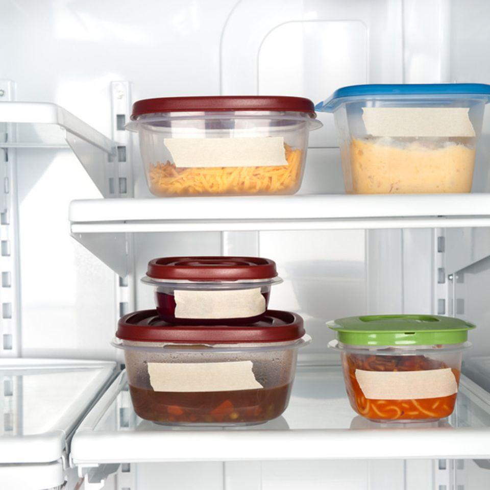 Kühl lagern, wenn das Essen noch mal aufgewärmt werden soll