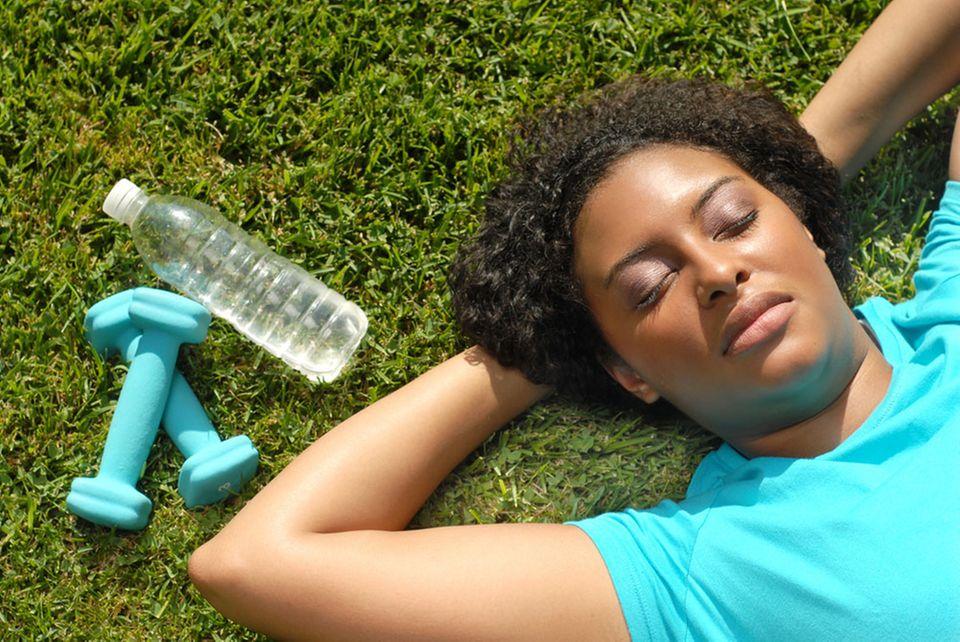 Rezept gegen Frühjahrsmüdigkeit: Sonne, Bewegung und ausreichend Schlaf