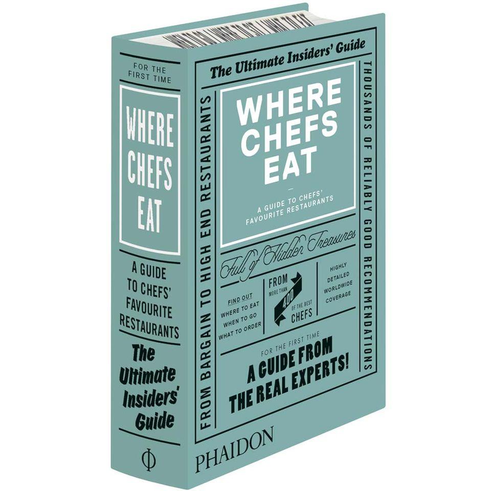 Ein Restaurantführer von Köchen - Where Chefs Eat