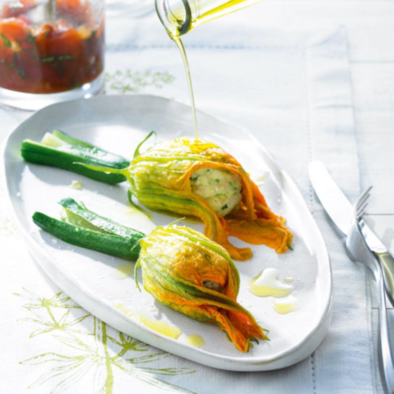 Rezepte mit Zucchiniblüten