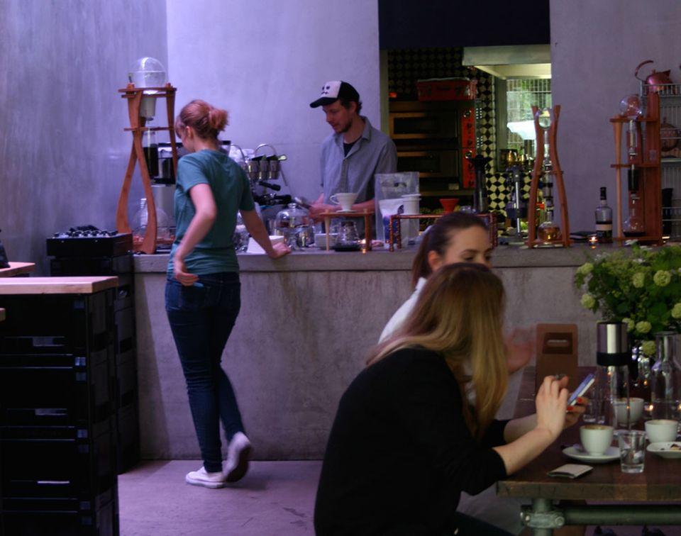Kaffee und Cocktails im Labor: The Lab Bar
