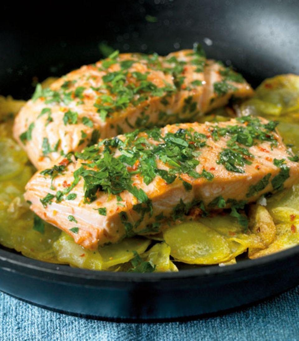 Einfach, köstlich und gesund: Fisch mit Kräutern