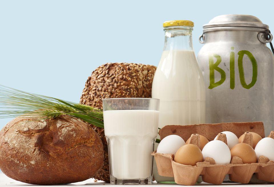 Gut für die Umwelt: Lebensmittel in Bio-Qualität