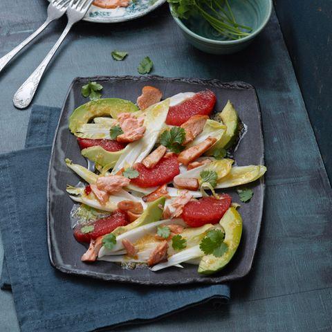 Zitrusfrüchte: Herzhaftes und Salate