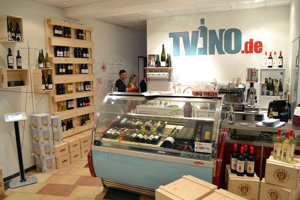 Ausgesuchte Weine im TVINO Pop Up Store im Hamburger Schanzenviertel
