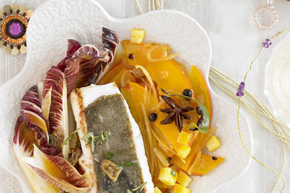 Menüplaner: Menü mit Peterfisch & Muscheln