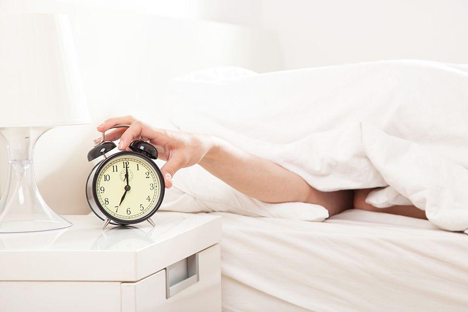 Genügend Schlaf ist enorm wichtig
