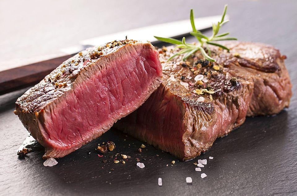 Beim Garpunkt von Steak unterscheiden sich die Geschmäcker