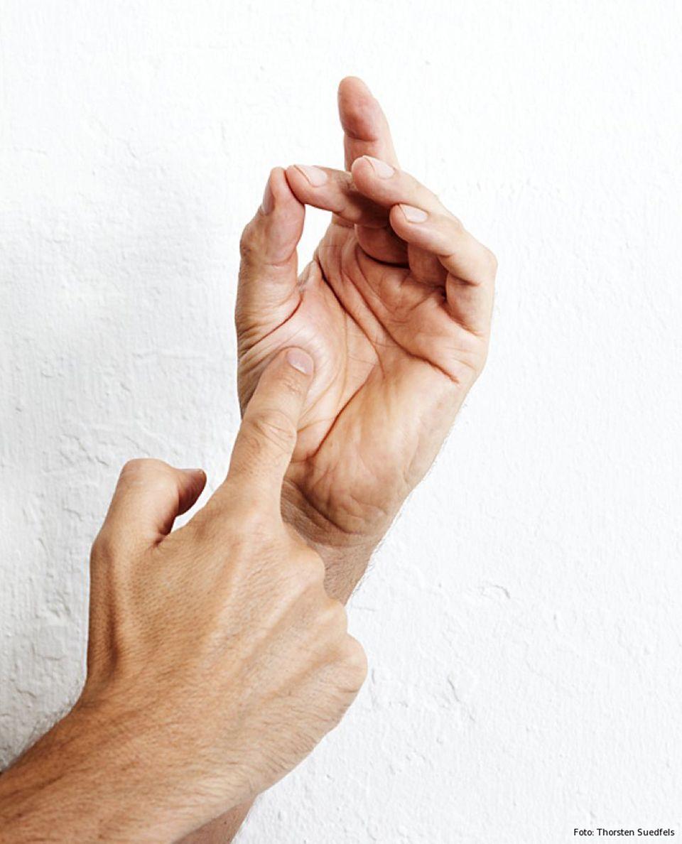 Der Fingertrick - Medium