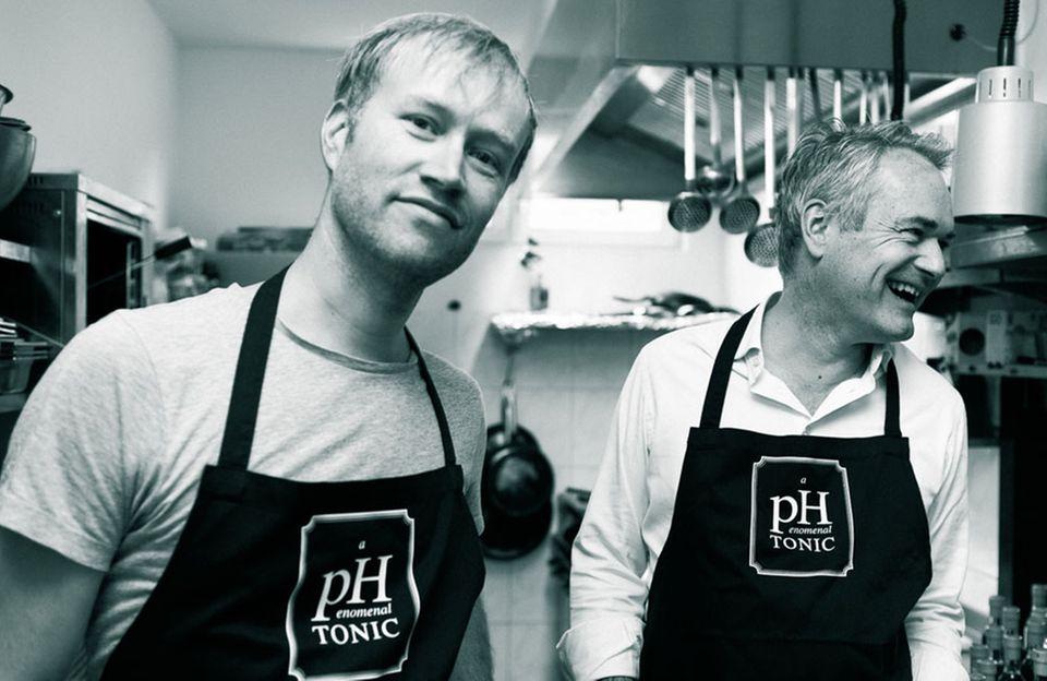 Tonic-Tüftler: Peter Hundert (li.) und Hendrik Schaulin