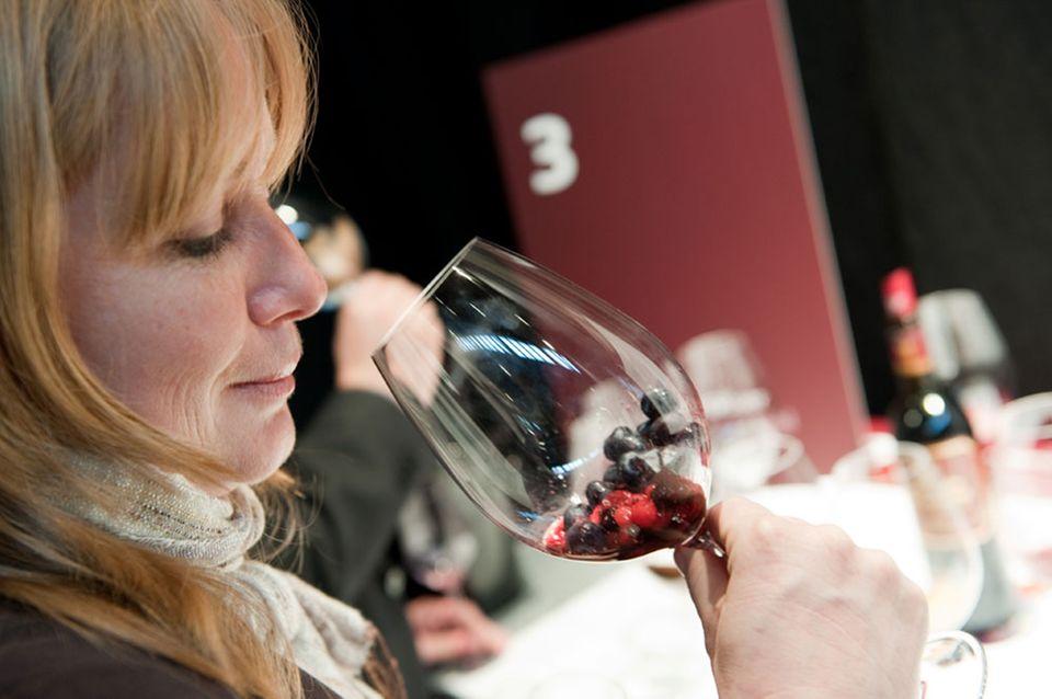 Aromen im Glas: Sensorik-Training auf der WineStyle
