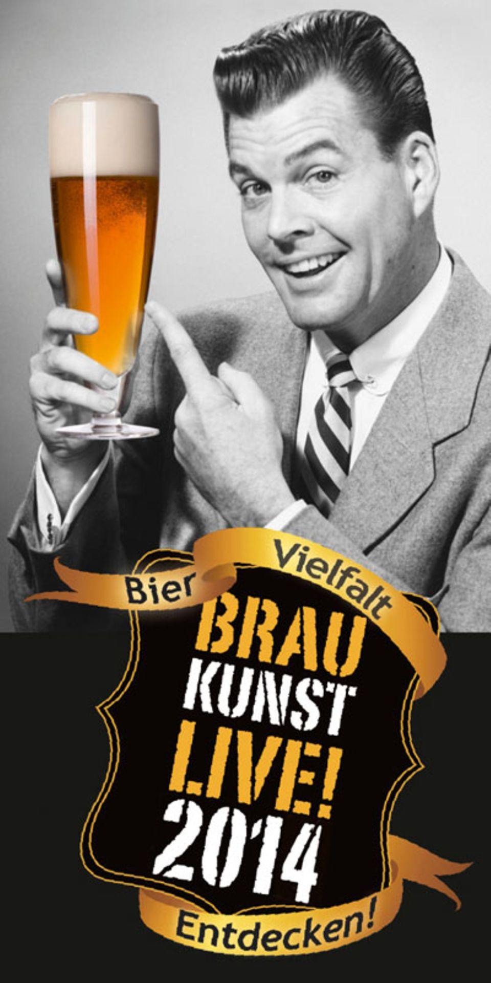 Stelldichein der Brauereien: Braukunst Live 2014