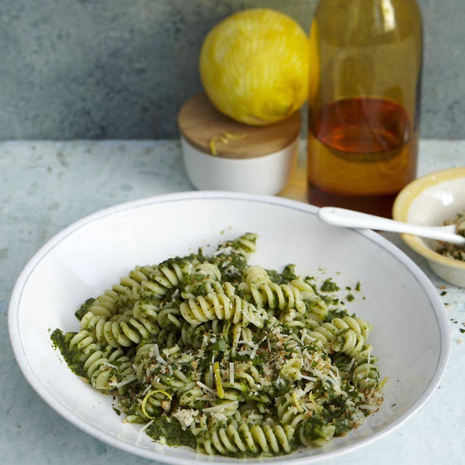 Rezepte für Spinat mit Pasta